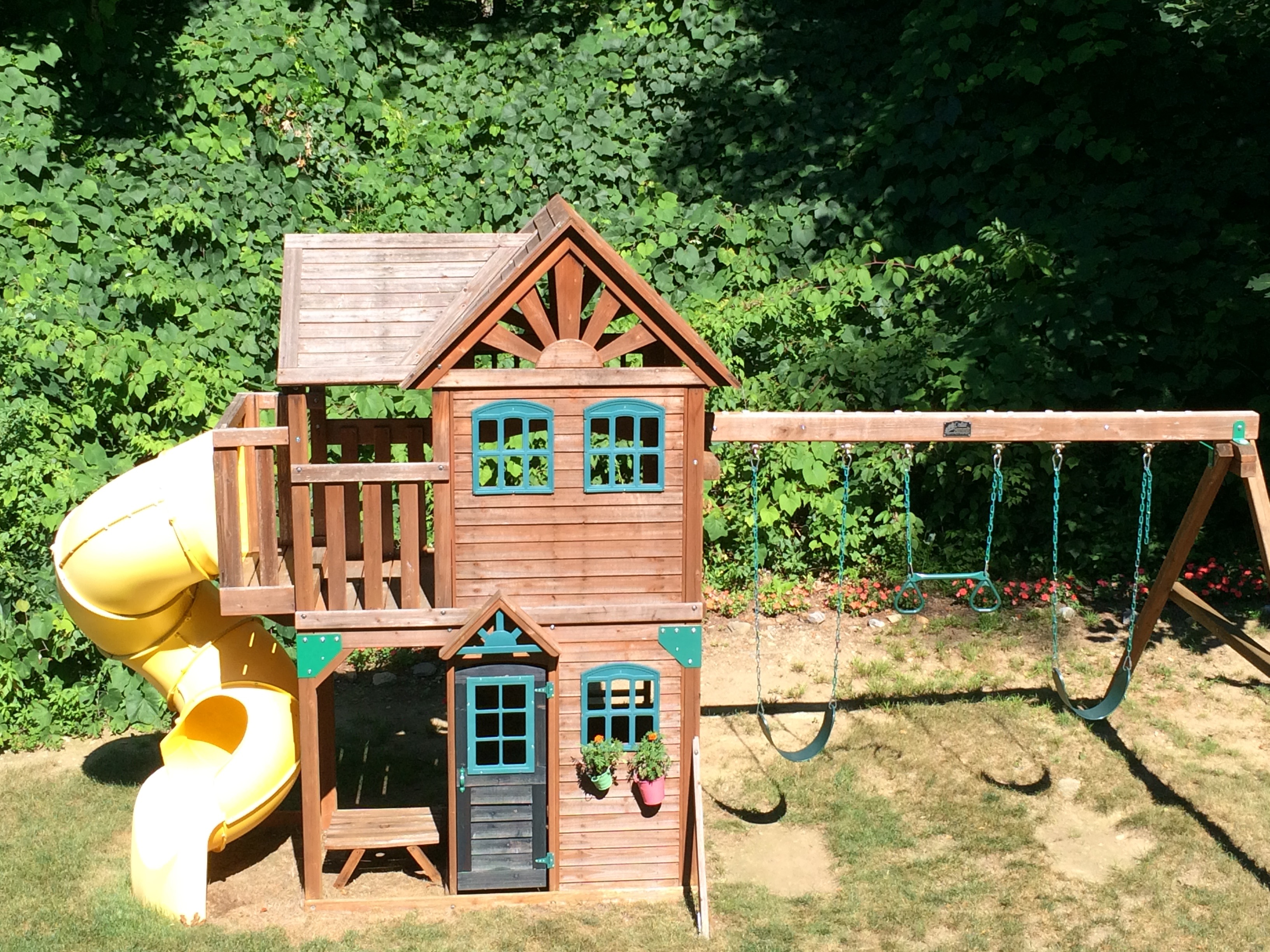 Backyard Playscape The Well Organized Mom for Backyard Playscapes